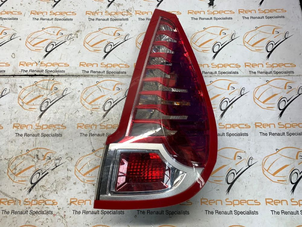 RENAULT SCENIC MPV 2009-2016 ON BODY TAIL LIGHT DRIVERS SIDE 265500013R [BP]